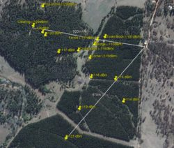 Range Test Map