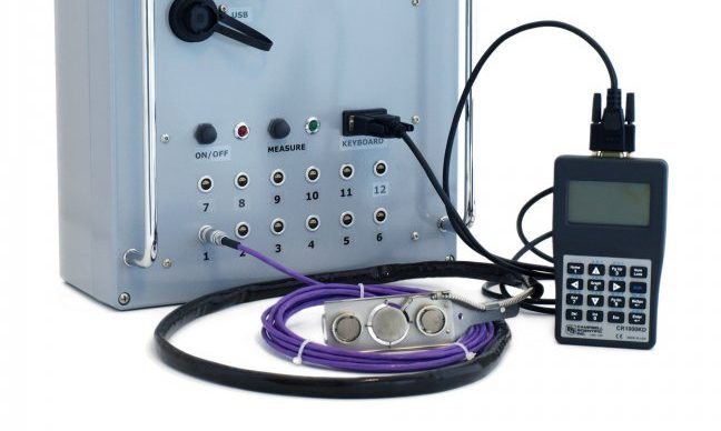 Hukseflux ALUSYS Heat Flux Measurement System